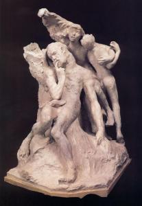 Rodin- Monumento a Victor Hugo (Primo progetto)