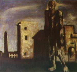 Mario Sironi- Il viandante